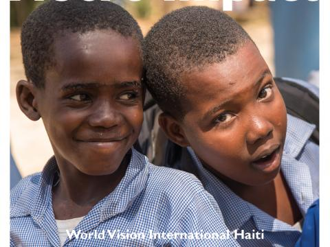 World Vision International Haiti Rapport d'impact - Mise à jour 2018