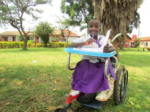 "Benitah adjusting to the new ""normal"" after receiving a wheelchair."