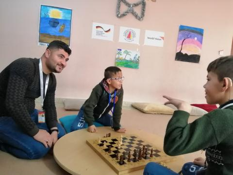 Child Friendly Space in Mosul