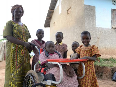 World Vision Uganda Wheelchairs for Kids Australia