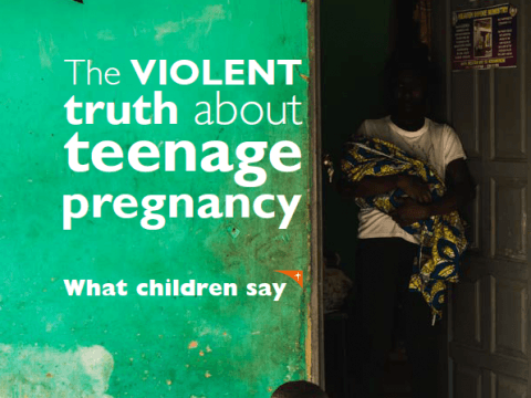 The violent truth about teenage pregnancy - what children say