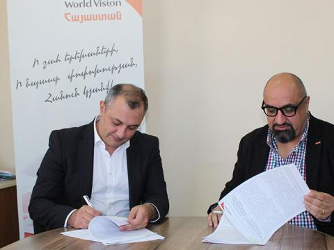 MOU signing with the Armenian Energy Agency