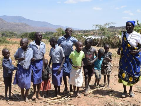 A reformed circumsicer now saves the lives of children in Kenya's West Pokot County. ©World Vision/Photo by Sarah Ooko
