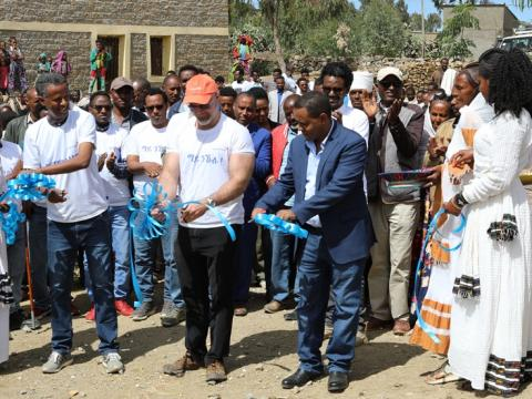 WaSH inaguration in Tigray region, Ethiopia.