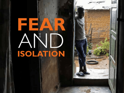 Fear and Isolation Report Cover Image