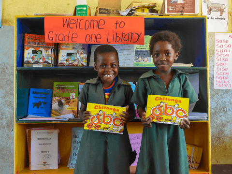 World Vision Zambia for the literacy boost