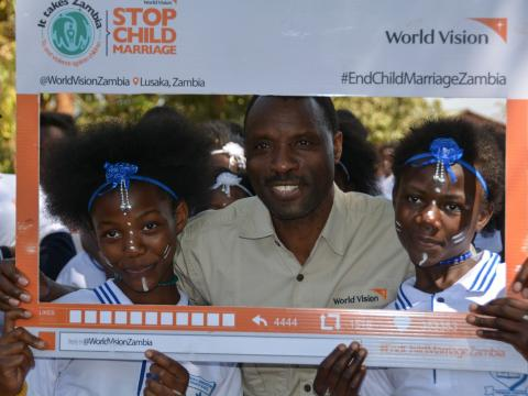 Local leaders partner with children to help end child marriage in Zambia