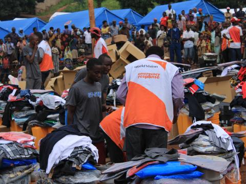 GIK for people affected by floods in Bujumbura