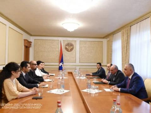 Taking the expertise to Nagorno-Karabakh