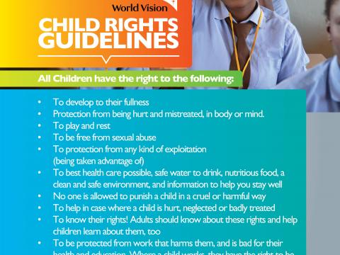Child Rights Poster