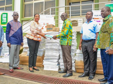 WVG donates to GHS for COVID-19 response