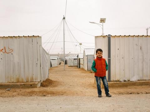 Fears and dreams Syrian refugee child in Jordan