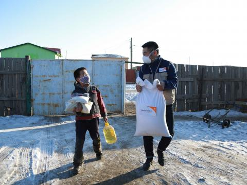 Mongolia-COVID19-distribution