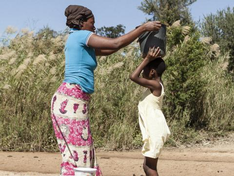 So many mothers in Zimbabwe and around the world live - and dream - for others. Carolina Varela/World Vision