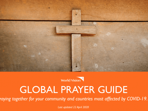 Global response prayer guide