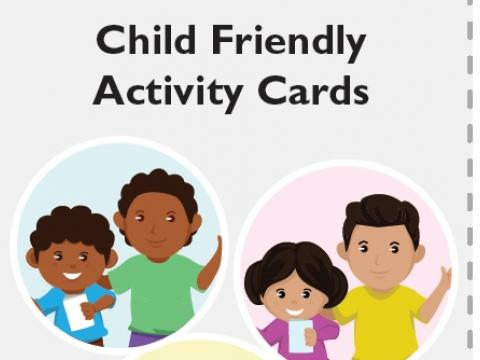 Child Friendly Spaces At Home Activity Cards