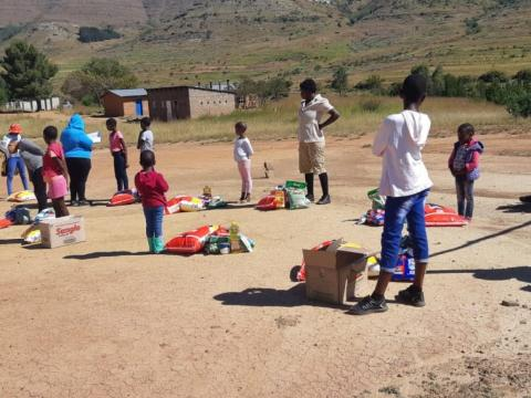 Supporting children on ARV treatment during COVID-19 lockdown in Lesotho