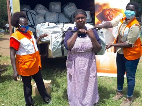 World Vision Supports Families Affected by Floods in Nakuru County