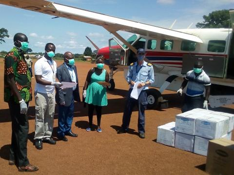 Partnering to bring supplies to South Sudan