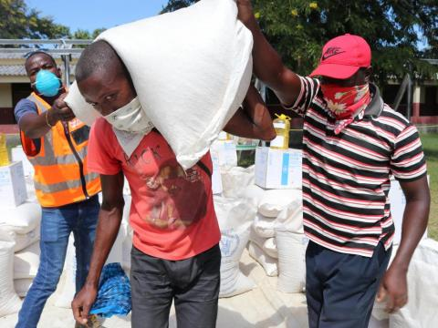 Mozambique food distributions - COVID-19