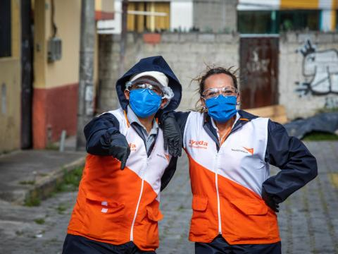 World Vision staff as hidden heros around the world