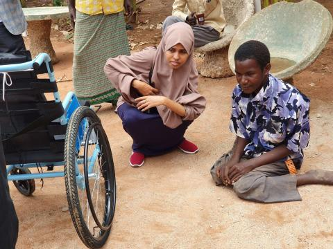 Giving hope to the physically challenged, Adan's story