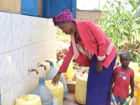Safe and clean piped water in Busia Municipality