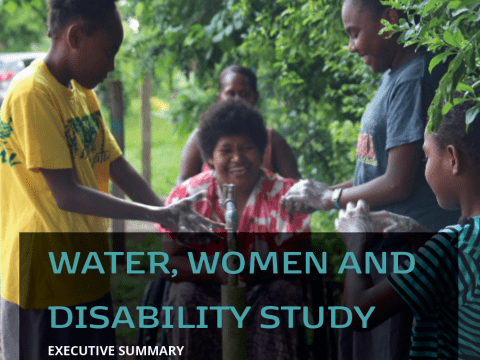 Water, women and disability - executive summary