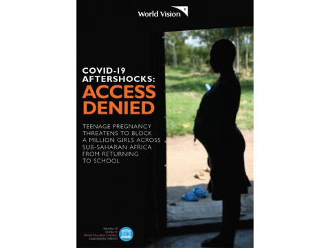 Aftershocks 4, Access Denied, as many as 1 million girls may not be able to return to school following the pandemic because of pregnancy