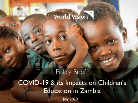 Policy Brief: COVID-19 & its Impacts on Children's Education in Zambia