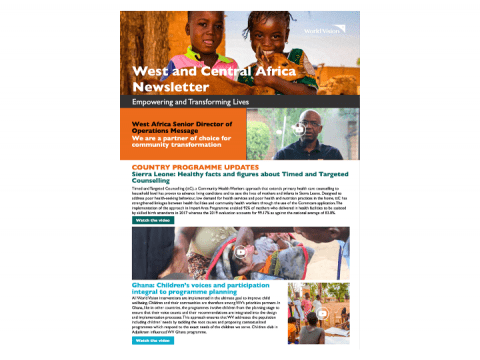 West & Central Africa Newsletter - July 2020