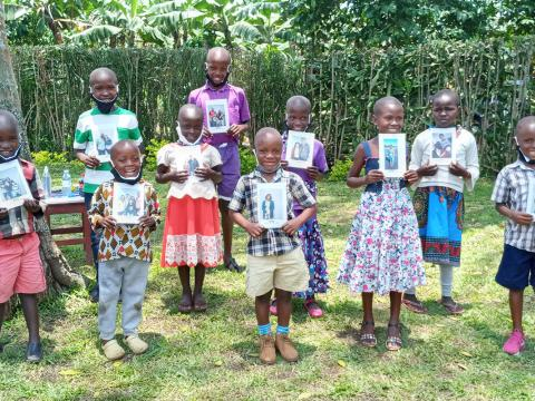 World Vision Uganda chosen event empowering children to choose their sponsors life-changing opportunity through sponsorship. For every one sponsored children, four more benefit.