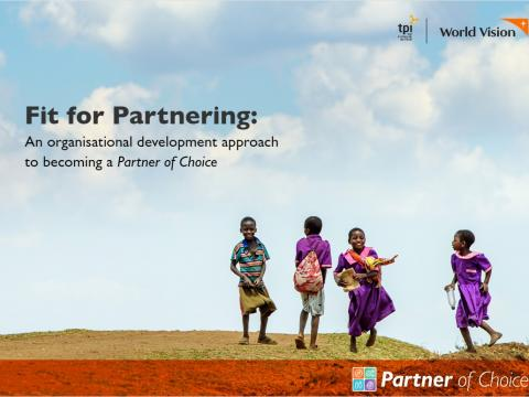 Fit for Partnering: An organisational development approach to becoming a Partner of Christ