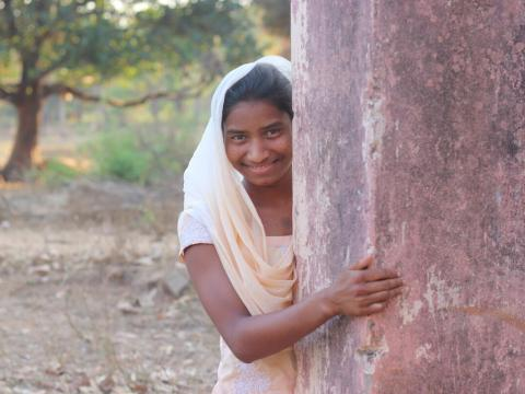 Reshmi in India was facing child marriage at the age of just 15