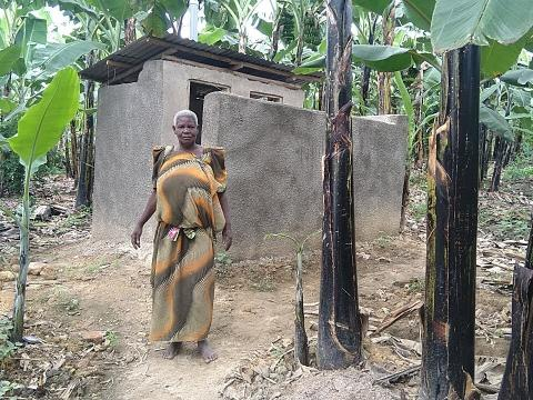 World Vision Improving sanitation through loans for toilets.