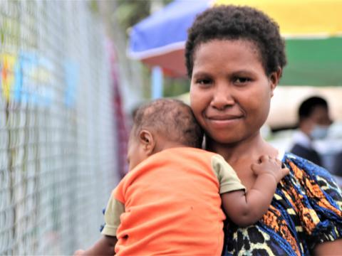 Morobe families happy with improved immunization access (1)