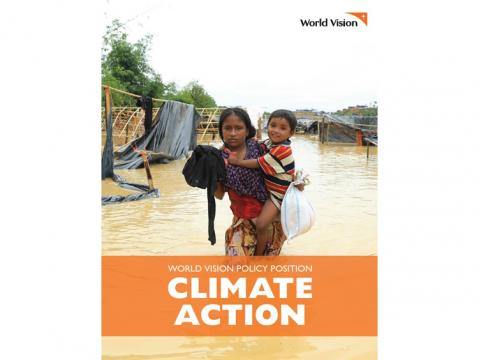 Climate Action: World Vision's Policy Position