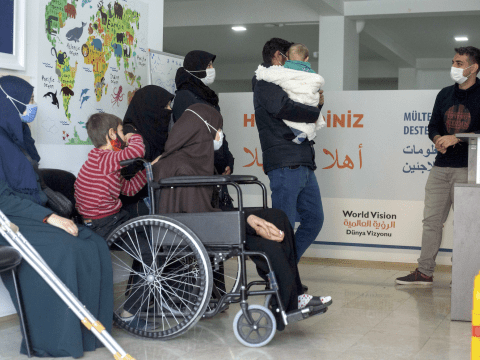 Refugees in Turkey receive protection assistance through the EU humanitarian aid