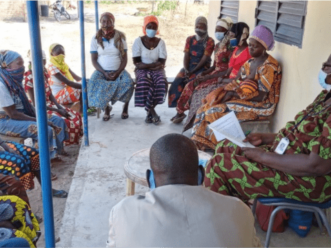 Community engagement on ending violence against women in Chad
