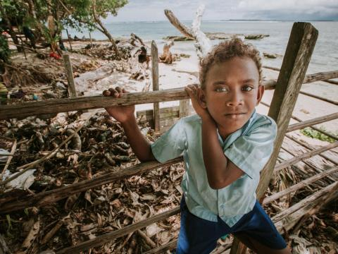 Climate change affecting Solomon Islands