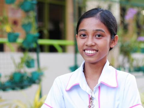 Angel wants to end child labour in the Philippines