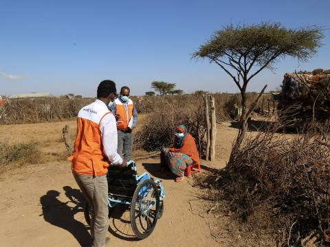 World Vision's community feedback mechanism benefits children with disability