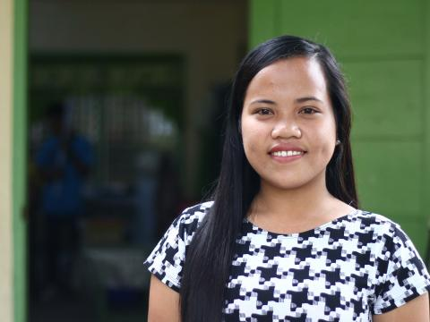 Child sponsorship helped Elsa with her dream of becoming a teacher