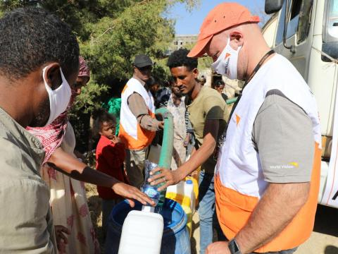 World Vision mobilising for a historic humanitarian response in Ethiopia's Tigray region