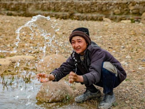 World Water Day, irrigation water source in Afghanistan