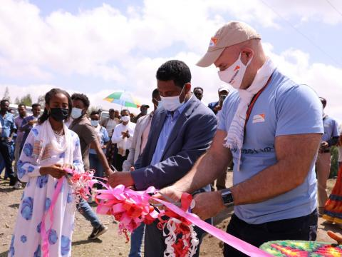 WASH projects inaguration at Northern Wollo, Ethiopia.