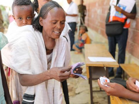 World Vision provides multipurpose cash assistance to most vulnerable families affected by Tigray crisis