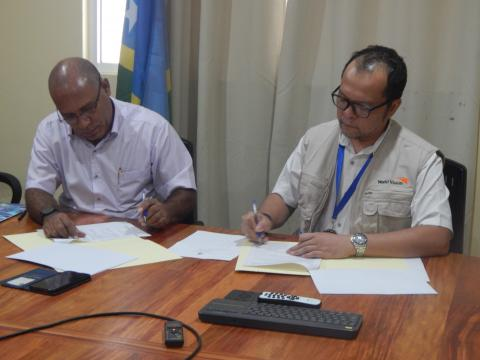 WVSI and MFMR Sign MOU
