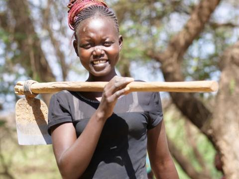 Youth in Kenya fight deforestation and climate change through farmer managed natural resource programme FMNR