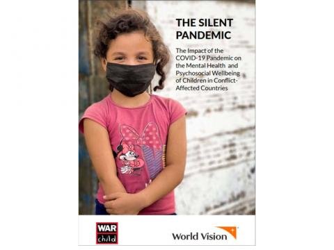 The Silent Pandemic Report Cover_child in mask
